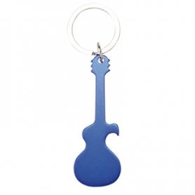 Llavero Guitarra Color: azul, negro, plata, rojo Llaveros