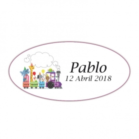 Etiquetas Personalizadas Infantiles  Etiquetas Regalitos 0,05€