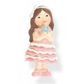 Muñecas con imanes  Figuritas e Imanes Detalles Comunión Mujer