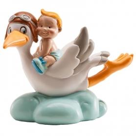 Figura de Cigüeña para Baby Shower