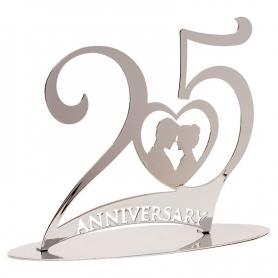 Figura Tarta 25 Aniversario  Figuras Tartas Boda Detalles Boda