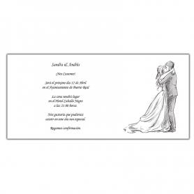 Invitaciones Sencillas y Elegantes  Invitaciones Boda Baratas
