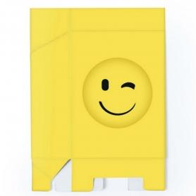 Cajitas Emoticonos Modelo:: carita sonrisa, carita gafas