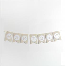Banderines Letras para Guirnalda