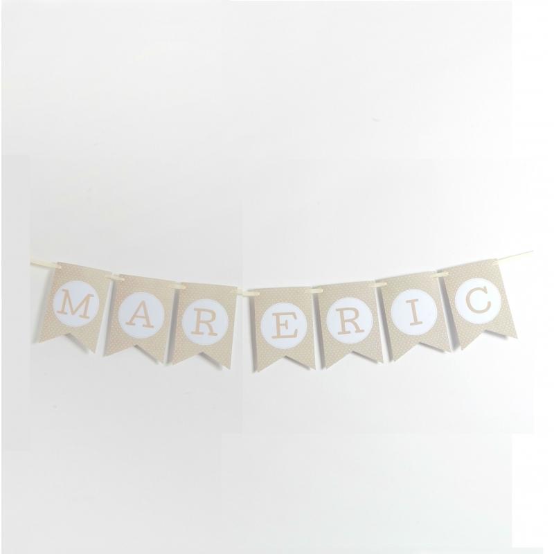 Banderines Letras para Guirnalda Letra:: a, b, c, d, e, f, g