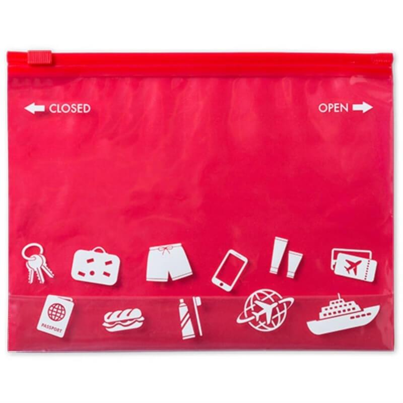Bolsa de Aseo Barata Color: rojo, azul, fucsia, verde