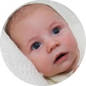 Pegatinas con Foto para Bebés