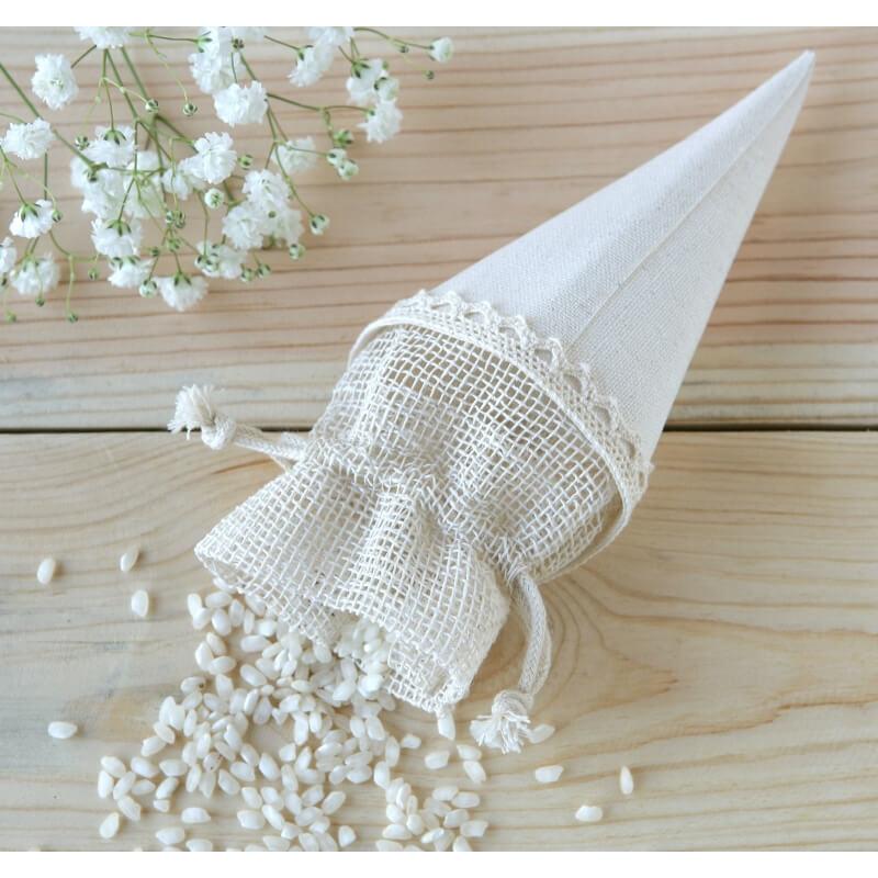 Wedding Rice Holder