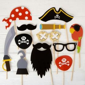 Photocall Pirata Set