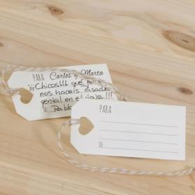Tarjetas Deseos  Tarjetas Regalitos 0,24€
