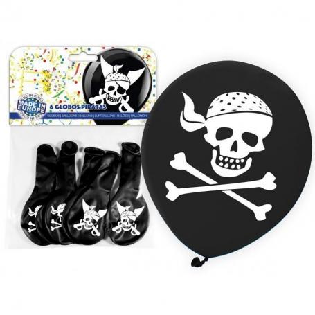 Globos Piratas Globos Decorativos para Cumpleaños Decoración