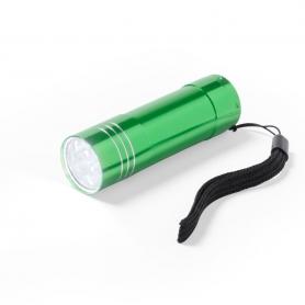 Linterna Led Aluminio Color: negro, plata, azul, rojo, verde