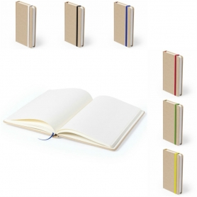 Cardboard notebook