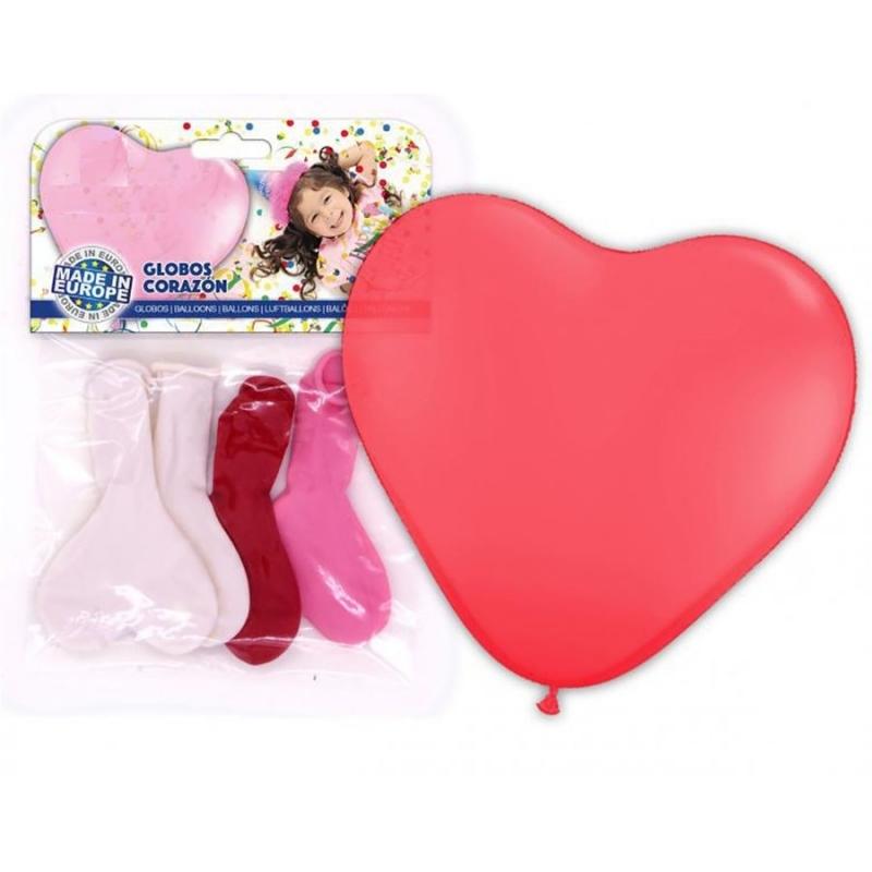 Globos de Corazón Globos Decorativos para Cumpleaños Decoración