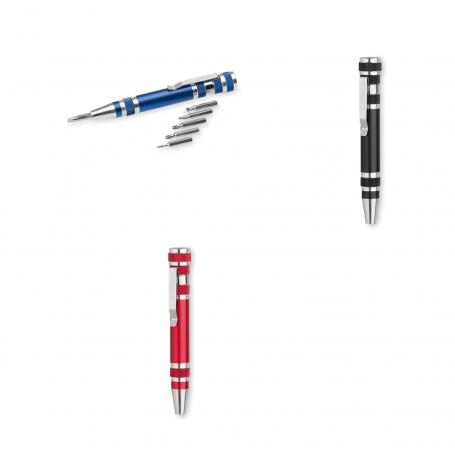 Multiherramienta de Bolsillo Color: azul, rojo, negro Para