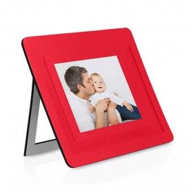 Alfombrilla Portafotos Color: blanco, rojo, azul, negro