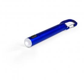 Bolígrafo Linterna Led Color: plata, negro, rojo, azul