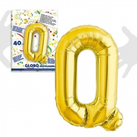 Globos Letras Doradas 0.64 €