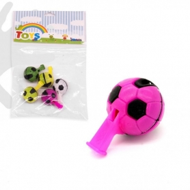 Pack 4 Toy whistles