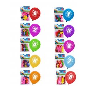 Pack de Globos de Números