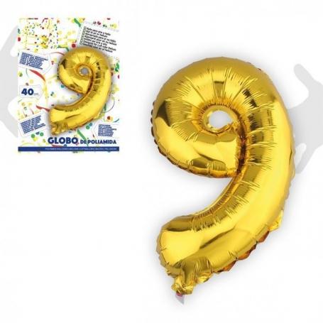 Globos de Números Metálicos Globos Decorativos para Cumpleaños