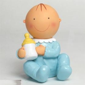 Adornos Tarta Bautizo Color: rosa, azul Figuras Tarta Bautizo