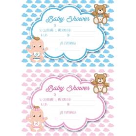 Invitación Baby Shower Niña