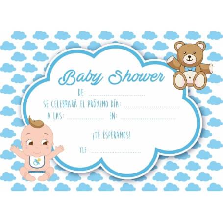 Invitación Baby Shower Invitaciones de Bautizo Necesarios