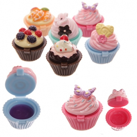 Brillo Labial Cupcake  Originales y Utiles Mujer