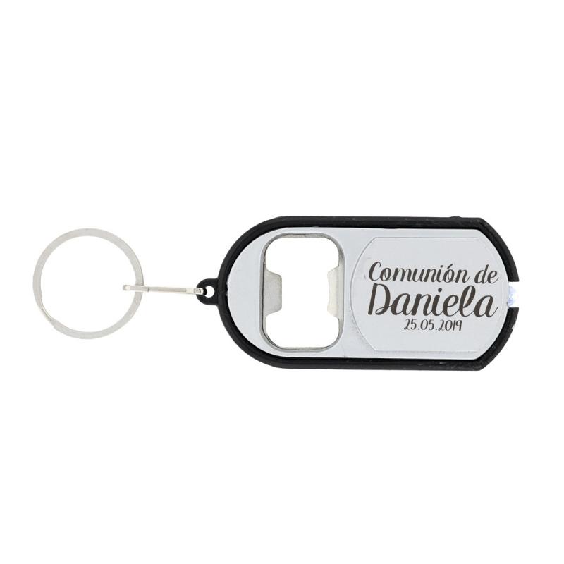 Engraved Communion Keychain