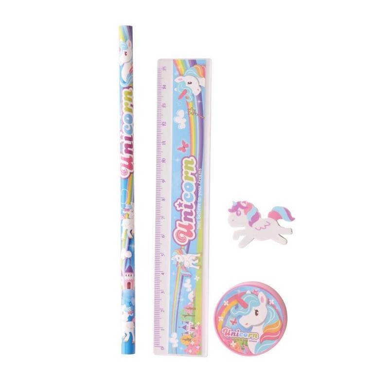 Set Papelería Unicornio Regalos menos 5€ Regalos Cumpleaños