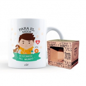 Taza Original Veterinario