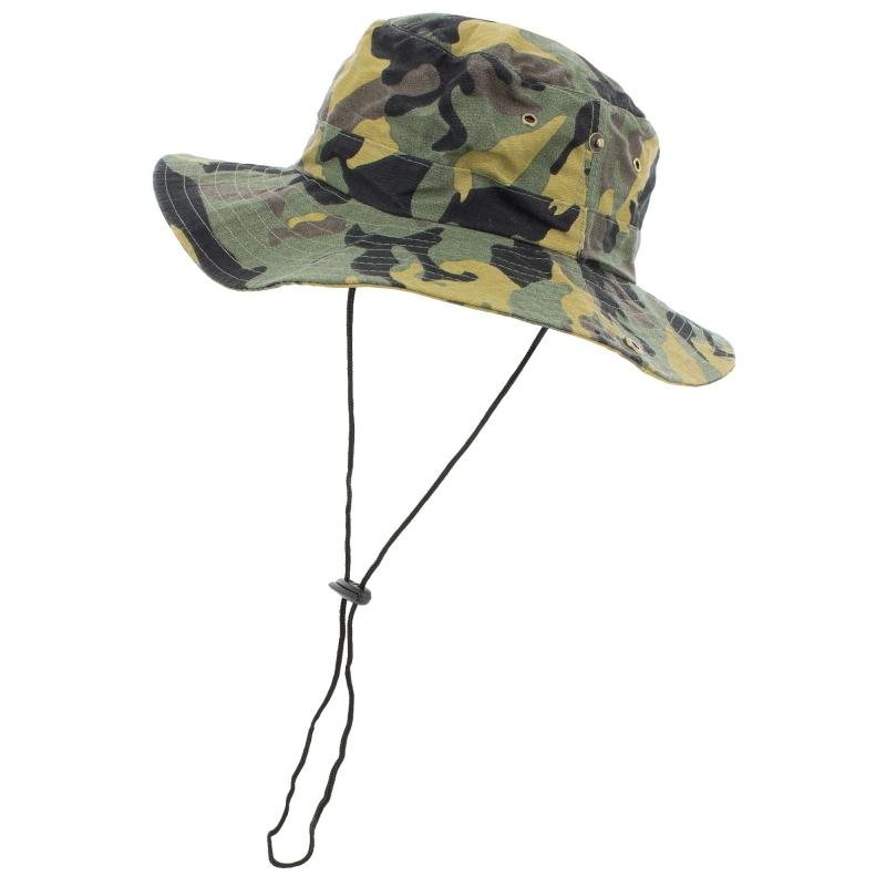 Sombrero Camuflaje  Pelucas y Sombreros
