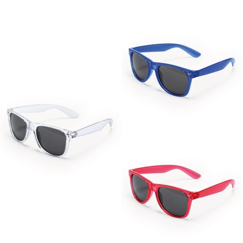 a7bea4d99d Gafas de Sol Transparentes Color: azul, naranja, rojo, transparente
