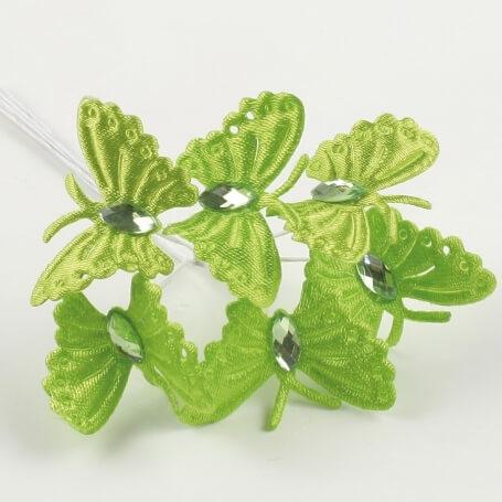 Ramito de Mariposas para Detalles Flores de Papel y Broches