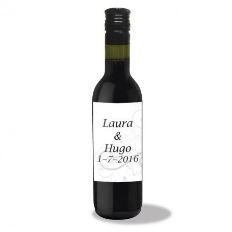 Botellas de Vino Personalizadas para Bodas Detalles Impresos
