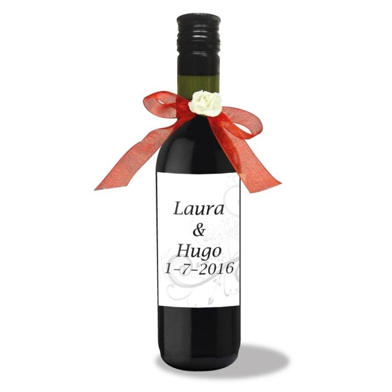 Botellas de vino personalizadas para bodas  Licores y Vinos