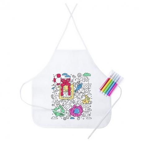 Delantal para Colorear para Niños Ideas Originales Detalles de