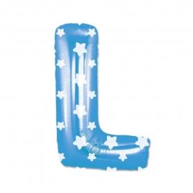 Globos Azules Letras