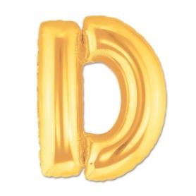 Globos de Letras Doradas Globos Decorativos para Cumpleaños
