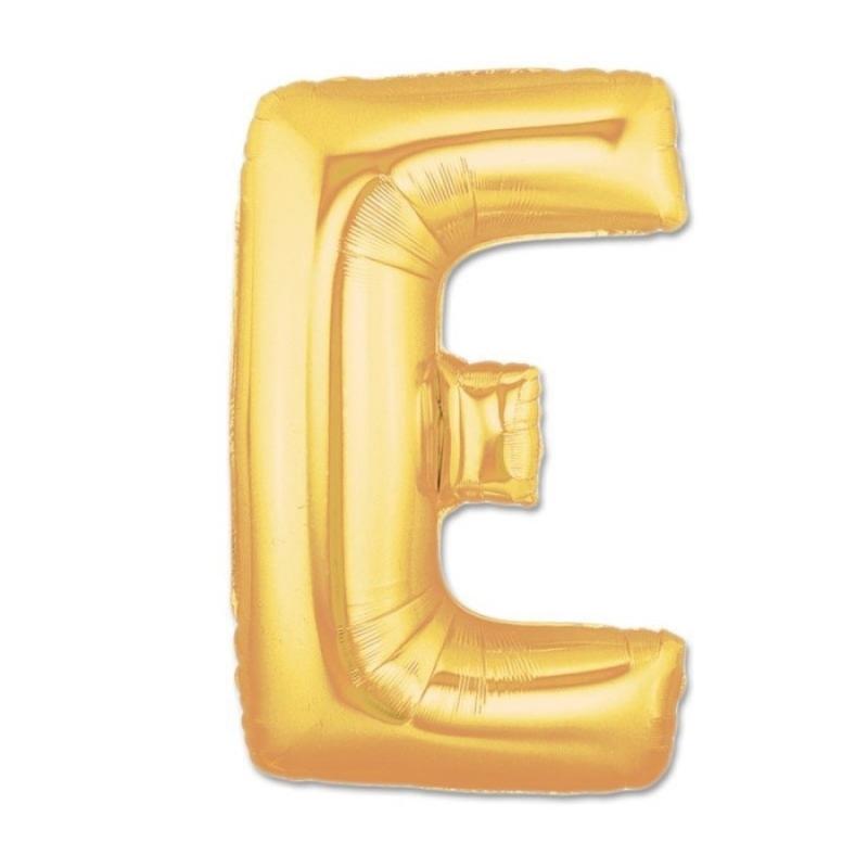 Globos de Letras Doradas Letra:: b, a, c, d, e, f, g, h, i, j