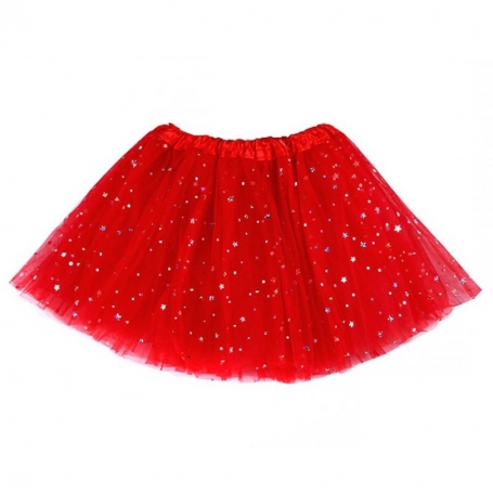 Tutu con Estrellas para Disfraz de Adulto Accesorios para
