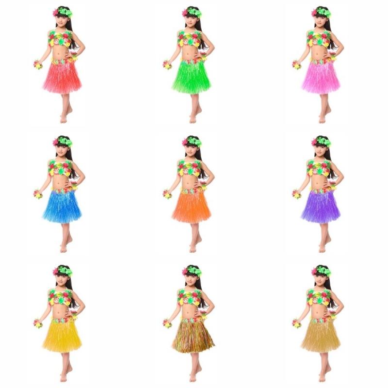 Falda Hawaiana Infantil
