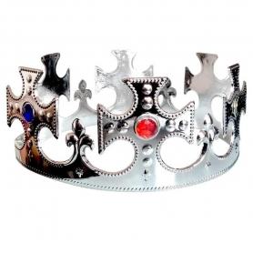 Corona de Rey Color: plata Coronas y Diademas Complementos para