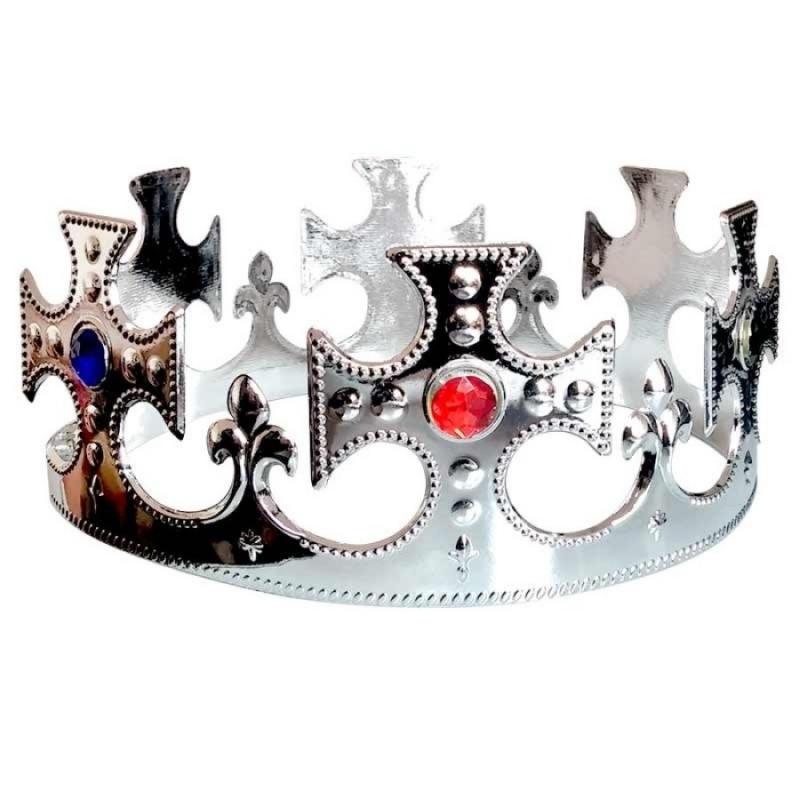 Corona de Rey Color: plata Coronas y Diademas