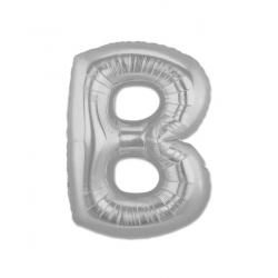 Globos de Letras Plateadas Letra:: a, b, c, d, e, f, g, h, i