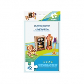 "Puzzle 3D ""Las Estancias de mi Casita"" Puzzles Regalitos"