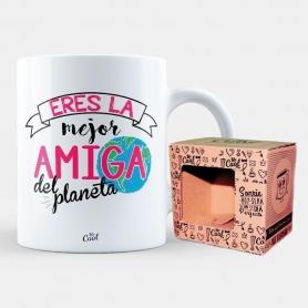 Taza para Amigo o Amiga Modelo:: el, ella Tazas Regalitos 6,82€