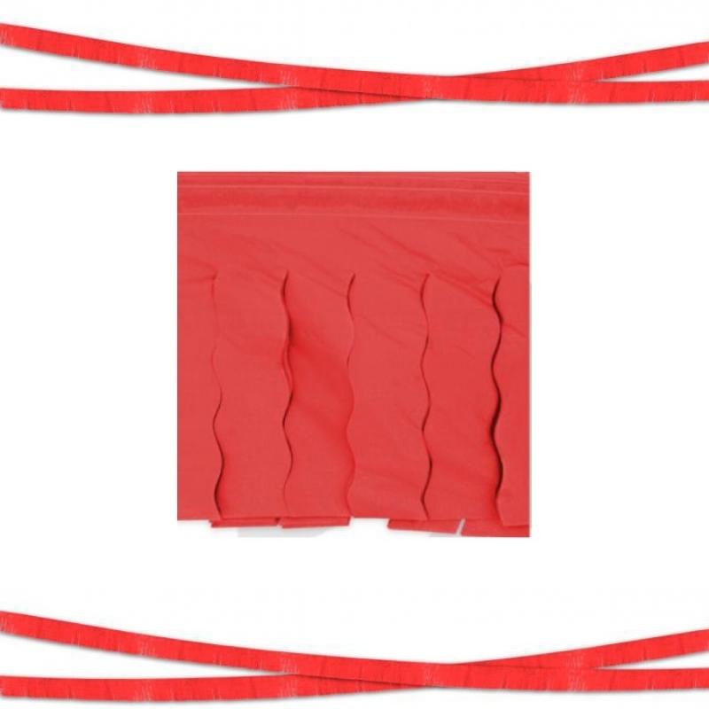 Guirnalda de Flecos de Plástico Color: blanco, azul, rojo