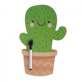 Pizarra Magnética Cactus